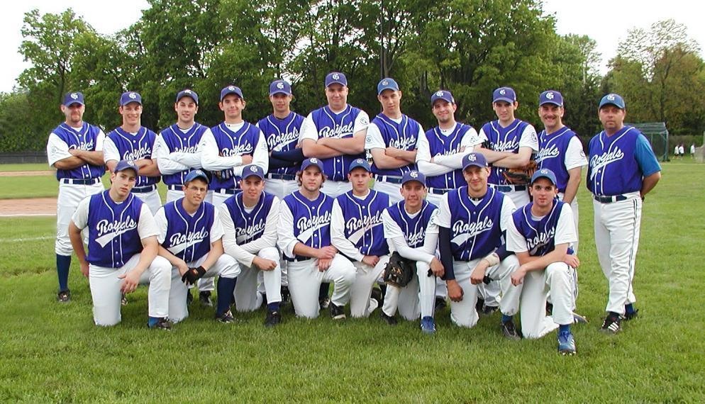 2003 Guelph Royals Midget AAA Baseball Team